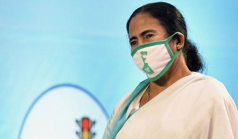 Tough battle: Mamata Banerjee.