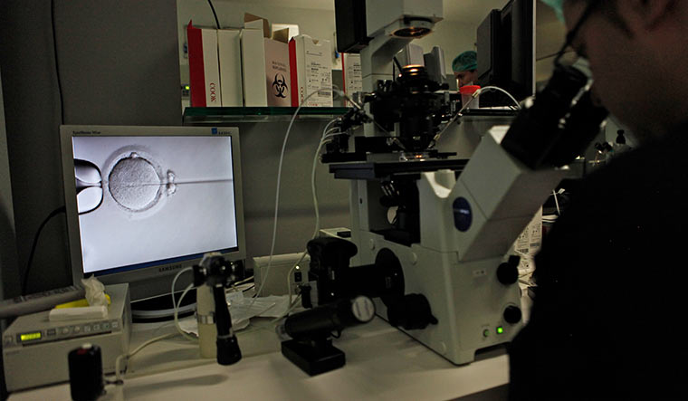 Trouble shooter: An in vitro fertilisation facility | Getty Images