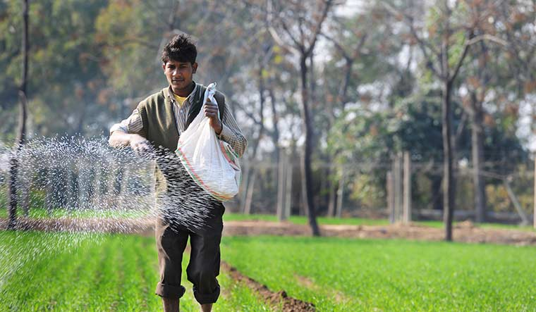 """Lasting damage: Villages were reporting higher incidence of infertility owing to the """"high use"""" of fertilisers and pesticides 