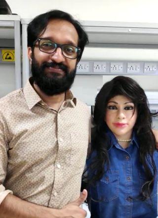 Desi Born: Jayakrishnan T. from Asimov Robotics with Chhaya