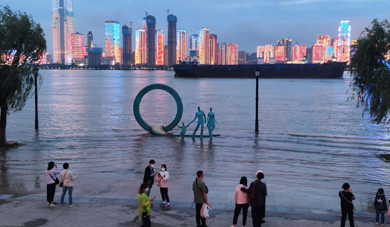CHINA-WEATHER/FLOODS