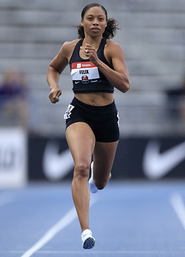 The more vocal of the track mothers, allyson Felix called out her sponsor Nike for refusing to promise that she would not be penalised for not being at her peak in the months surrounding childbirth.