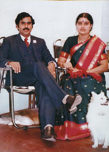 Good old days: Sasikala with her husband, M. Natarajan | Courtesy Nakkheeran