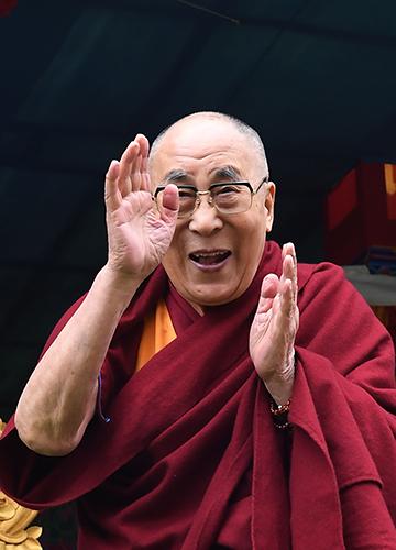 Dalai Lama   Salil Bera