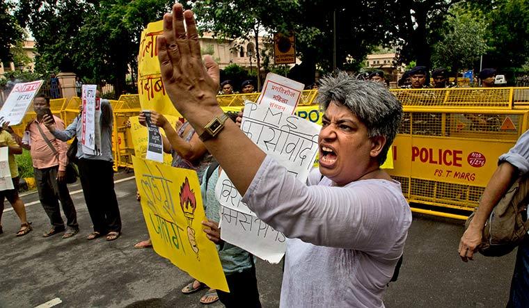 India Activist Arrests