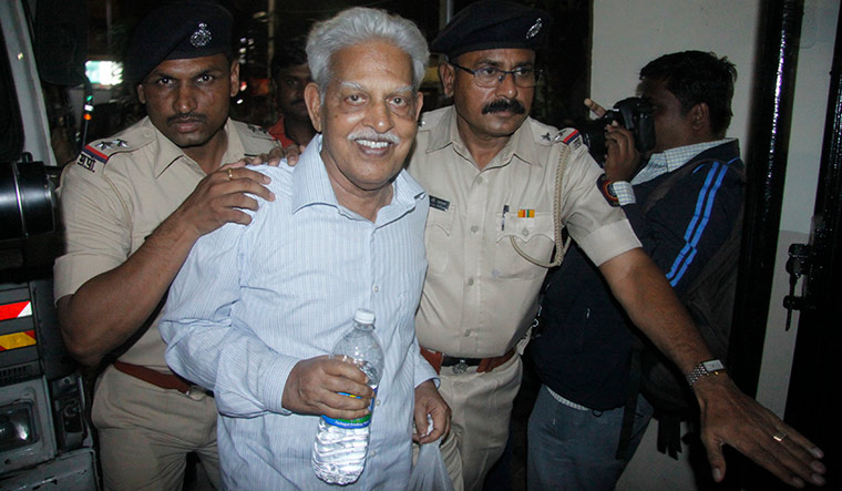 Silencing act: Varavara Rao being arrested in Hyderabad | Mandar Tannu