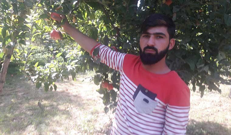 Adil Hussain, an apple farmer | Umer Asif