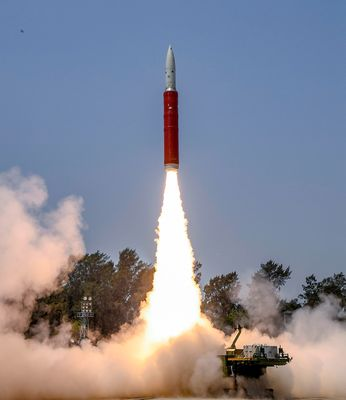 Sky is no limit: The anti-satellite missile that was launched as part of Mission Shakti | PTI