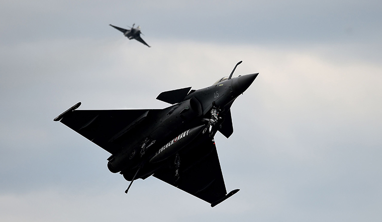 Turbulent flight: The Rafale deal has been mired in controversy   AFP