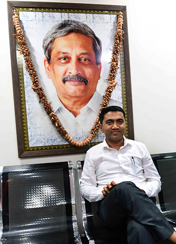 In the hot seat: Goa Chief Minister Pramod Sawant | Janak Bhat