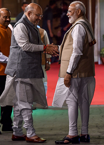 Best laid plans: Under Modi and Shah, the BJP is focusing on building on its strengths   AFP