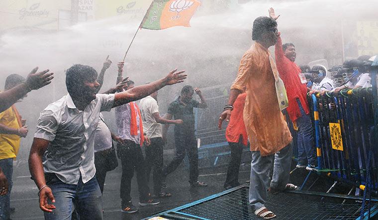 Lotus surge: Hostilities between the BJP and the Trinamool have intensified in West Bengal   Salil Bera