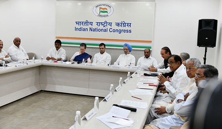 A lot to discuss: Congress leaders during the CWC meeting on August 10 | Sanjay Ahlawat