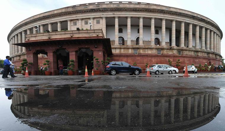 FILES-INDIA-POLITICS-ARCHITECTURE-PARLIAMENT