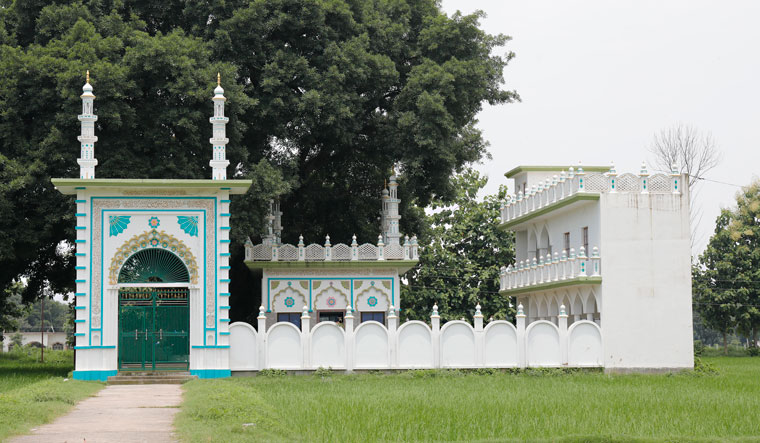 In the offing: The plot in Dhannipur village where a mosque is planned to be constructed | PAWAN KUMAR