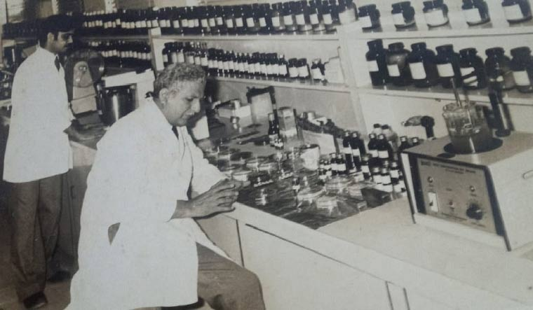 Great work: File photo of  Pai in a lab.