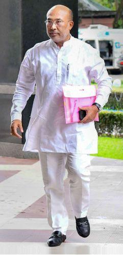 N. Biren Singh   PTI