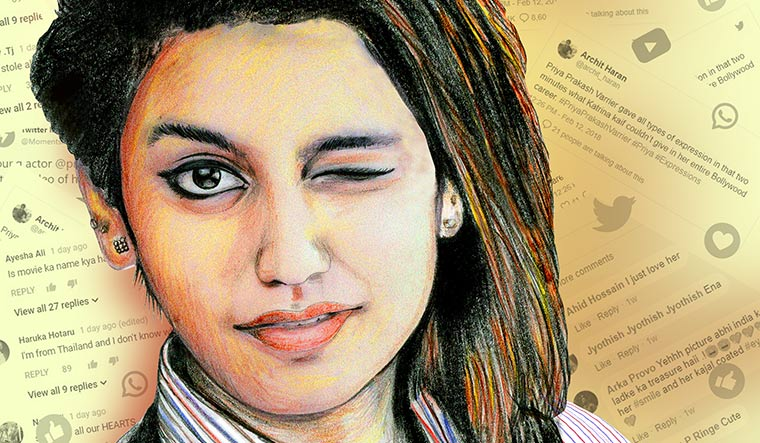 'Wink' girl Priya Varrier India's most searched personality in 2018: Google
