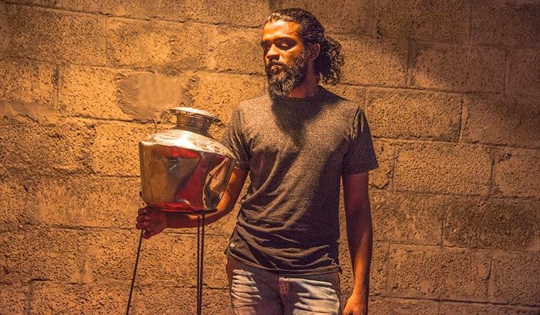 Flowing art: Vipin Dhanurdharan.