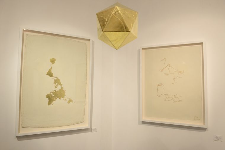 Icosahedron: The Dymaxion Map | Anant Art Gallery, New Delhi