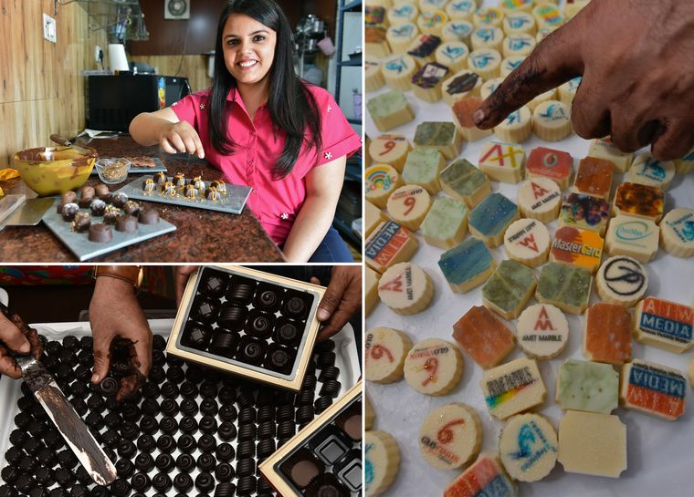 Chocolate artists: Radhika Gulati, founder of Rosarte Chocolate | Aayush Goel