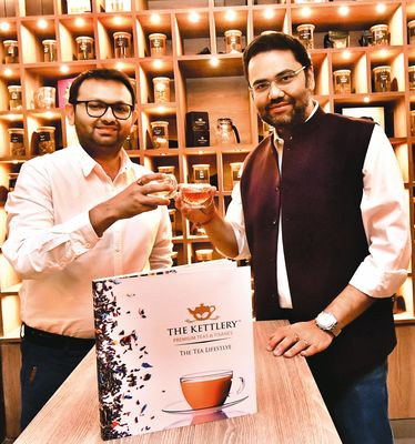 True to tea: Sandeep Kotecha (left) and Apoorva Kamdar | Janak Bhat