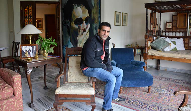 Taseer at his home in delhi | Arvind Jain