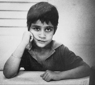 A childhood photograph.