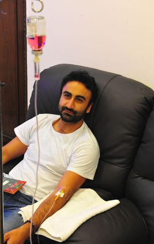Infusing energy: IV drips are Rishi Baveja's go-to therapy for recovery from hangovers to tiredness | Aayush Goel