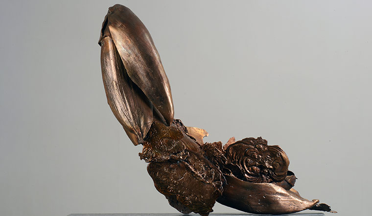 Palmscape VII (bronze, 2013)