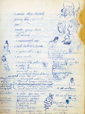 Fighting spirit: A page from Renia's diary 1942.