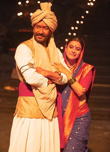 All in the family: Ajay Devgn and Kajol on the sets of Tanhaji: The Unsung Warrior | Jitu Savlani