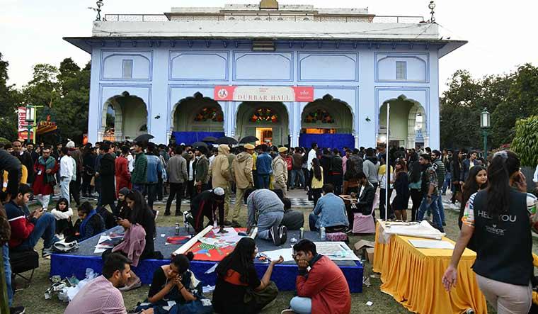Durbar Hall, where the JLF was born | Sanjay Ahlawat