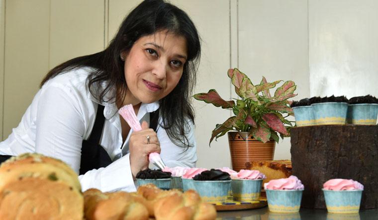 Monica Kansal Gupta, a Delhi-based home baker | Aayush Goel