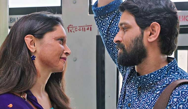 Working out his art: Vikrant Massey with Deepika Padukone in Chhapaak