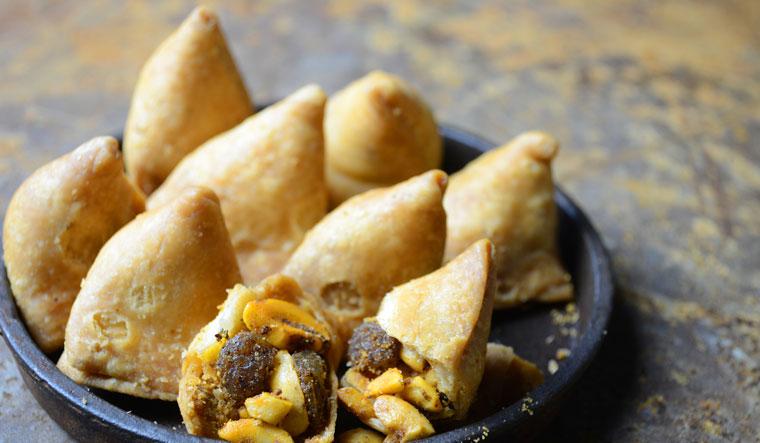 Samosa Singh's dry fruit samosas