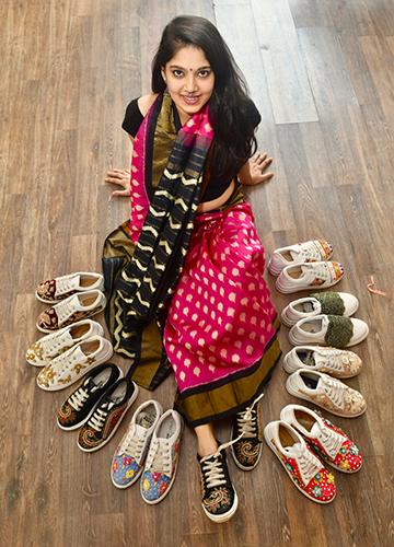 Sari, not sorry: Fashion designer Shruti Kasat   Salil Bera