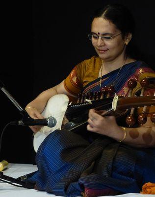 Chandrima Roy at a concert in Delhi   Avinash Pasricha