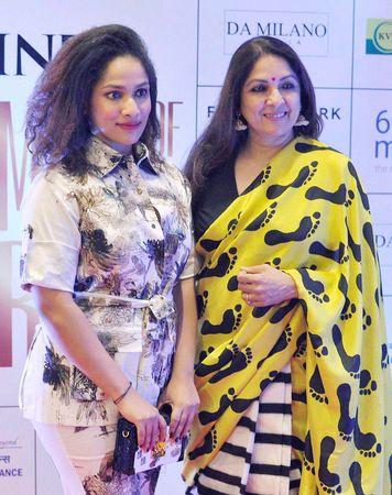 Masaba with her mother, Neena Gupta | PTI
