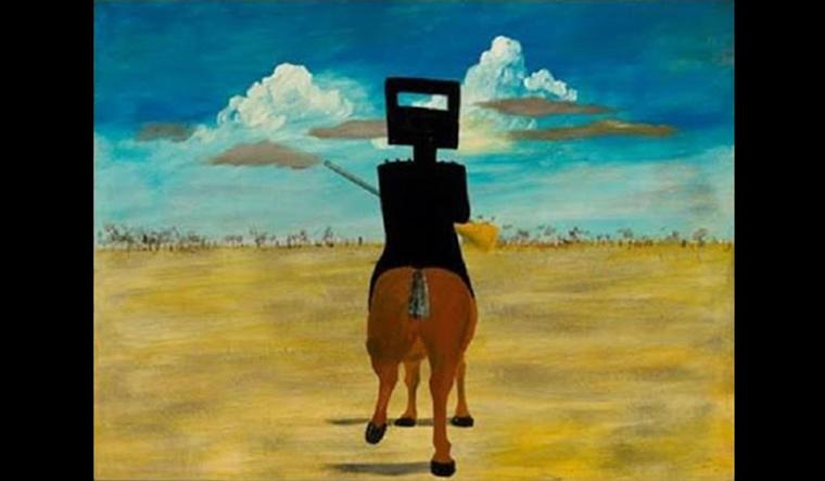 Ned Kelly by Sydney Nolan (1946)