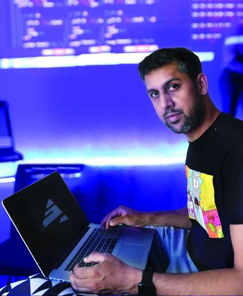 Codes and chords: Abhinay Khoparzi, one of the pioneers of the algorave  movement in India | Imaging / Deni Lal Photo/ Janak Bhat