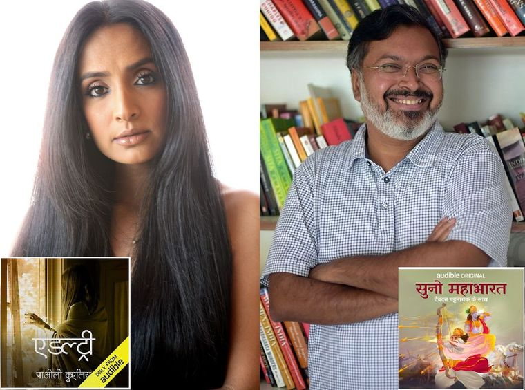 Story time: Actor Suchitra Pillai has voiced for Paulo Coelho's Adultery and  writer Devdutt Pattanaik released the Mahabharat as a six-hour audio show