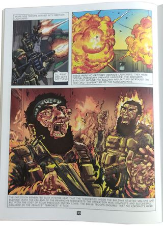A page from Niranjan: The Bomb Buster