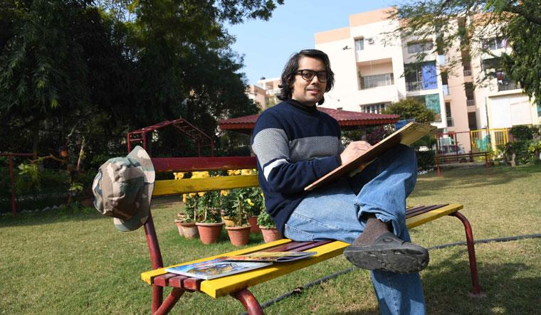 Mighty brushstrokes: Rishi Kumar, illustrator and  founder of Aan Comics | Sanjay Ahlawat