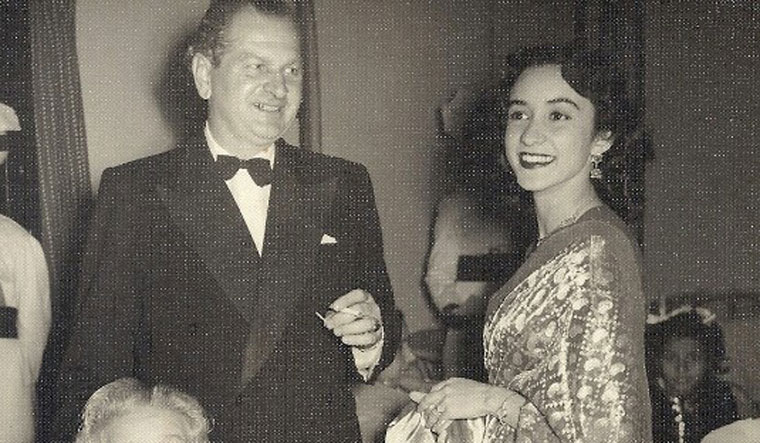 Victor Egan with his second wife Nina