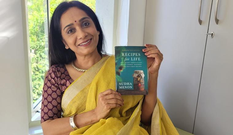 A mighty pen: author Sudha Menon