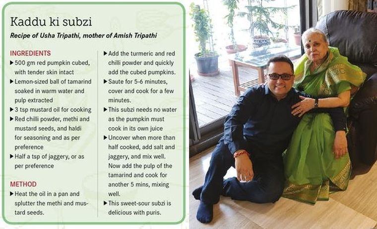 Author Amish Tripathi with mother Usha | Photo courtesy: Penguin Random House