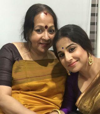 Mom & I: Vidya Balan with mother Saraswathy | Photo courtesy: Penguin Random House