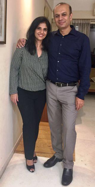 Wine pairing: Yatin and Kiran Patil of Reveilo