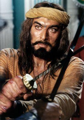 A still from Italian mini-series The Return of Sandokan | Getty Images